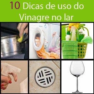 Meus Dois Minutos: 10 usos domésticos do vinagre e que facilitam muito a vida