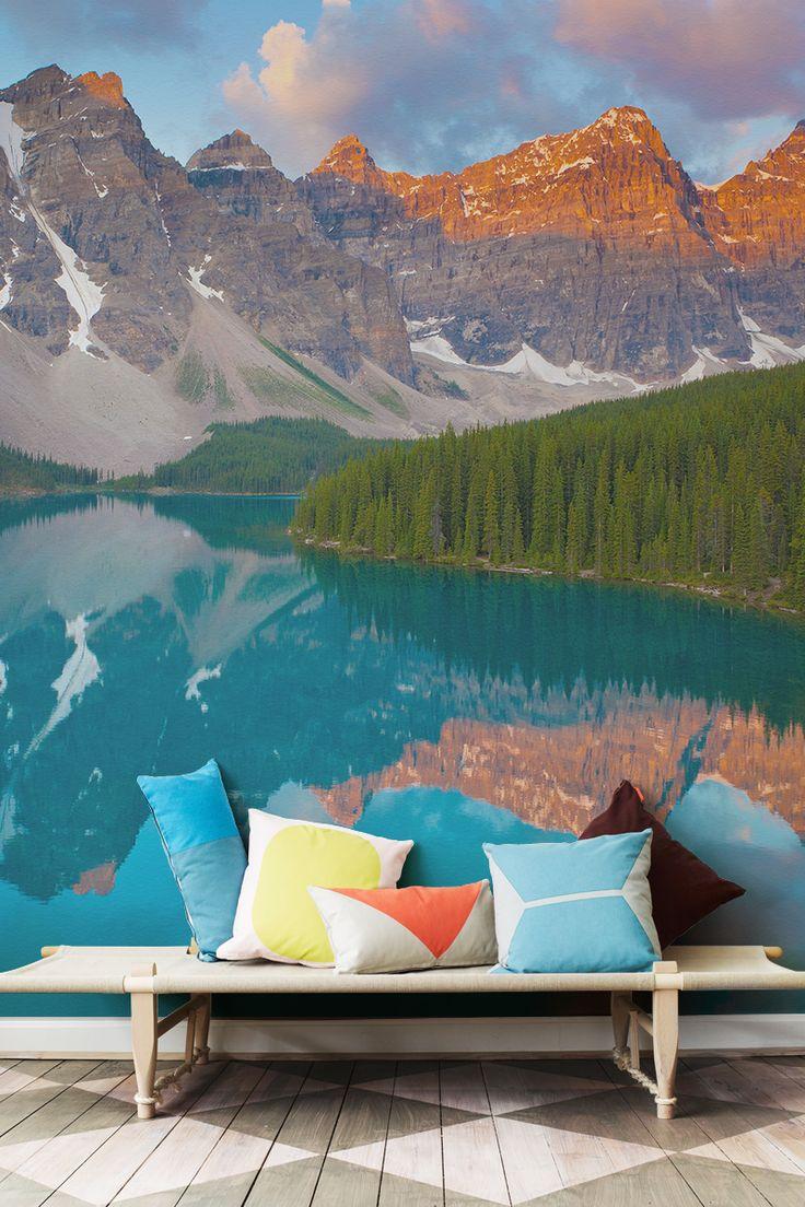 16 Best Landscape Wall Murals Images On Pinterest Wall