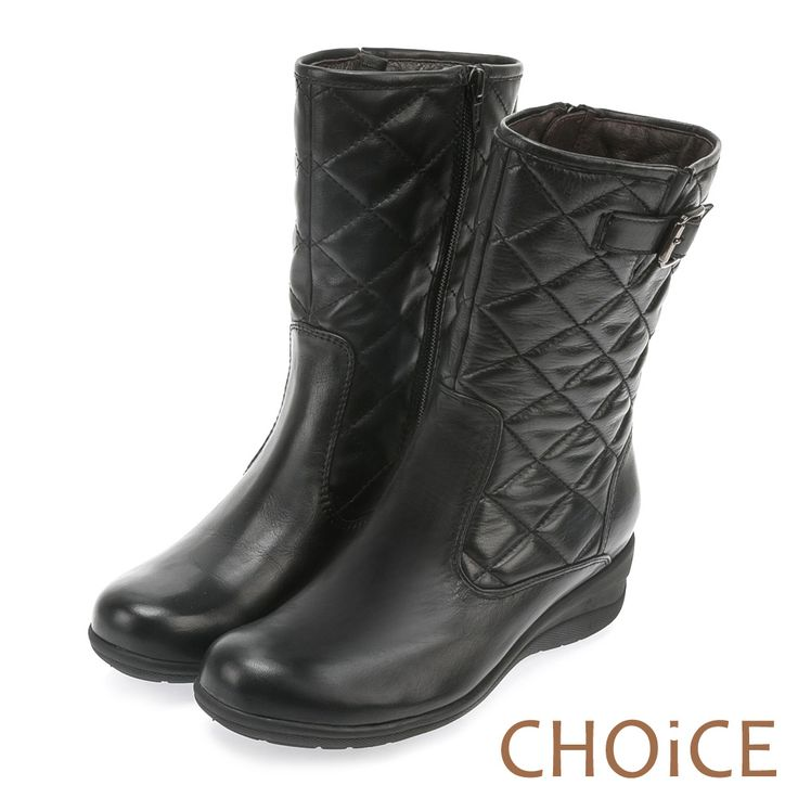 https://tw.buy.yahoo.com/gdsale/CHOiCE-個性復古-牛皮造型菱格縫線低跟中筒靴-5465714.html
