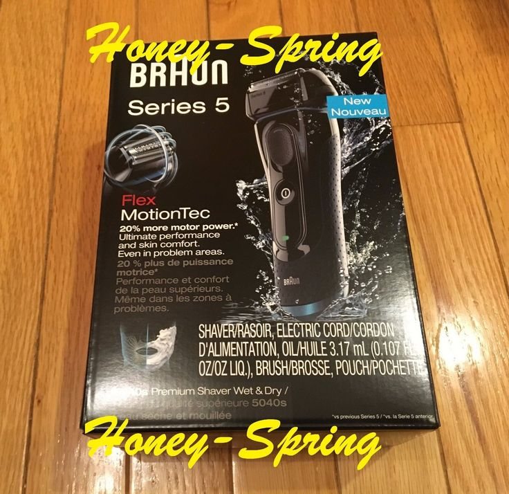 Mens Shavers: Braun Electric Shaver Wet And Dry Series 5 5040S Brand New Sealed -> BUY IT NOW ONLY: $97.5 on eBay!