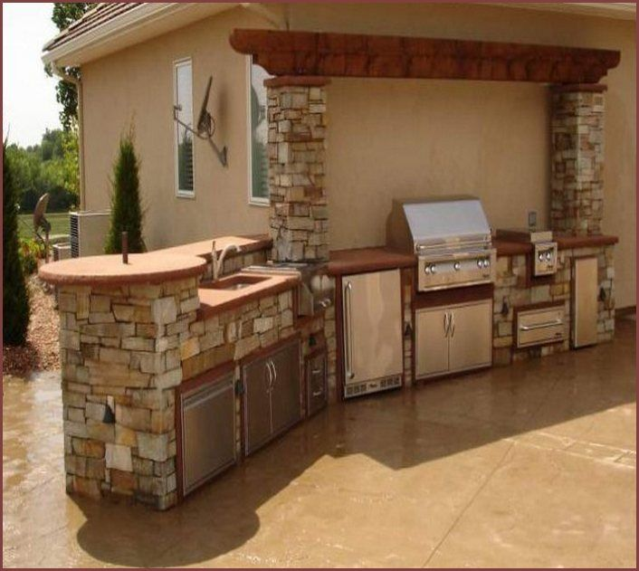 Outdoor Kitchen Cost Ultimate Pricing Guide: 25+ Best Outdoor Kitchen Kits Ideas On Pinterest