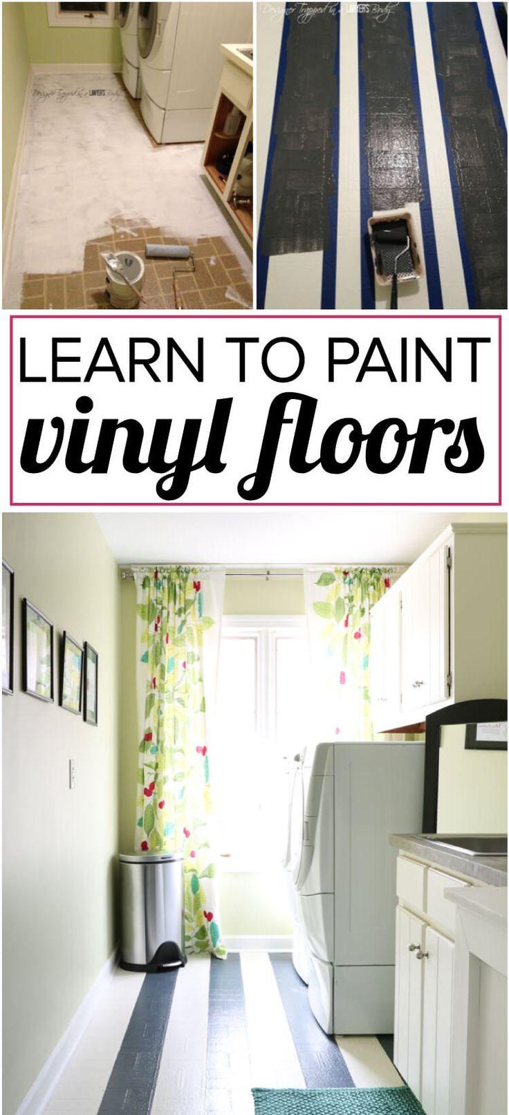 58759 best hometalk diy images on pinterest craft ideas for Best paint for vinyl floors