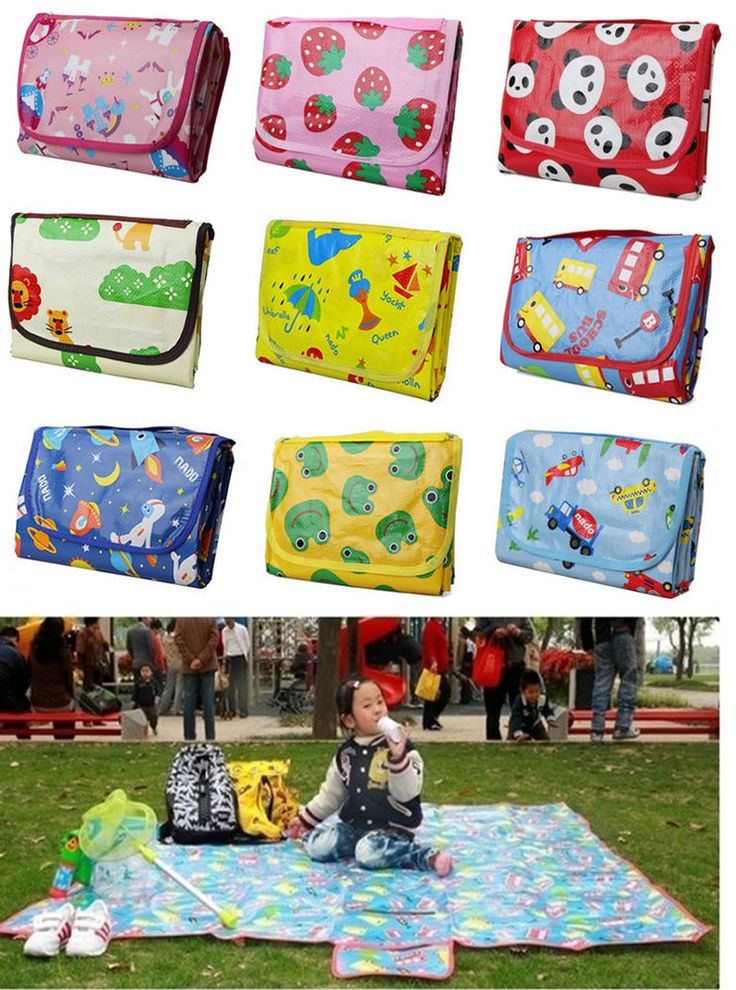 Baby Play Mat Gym Activity Blanket Toy Game Carpet Floor Travel Play Picnic Mat #Unbranded