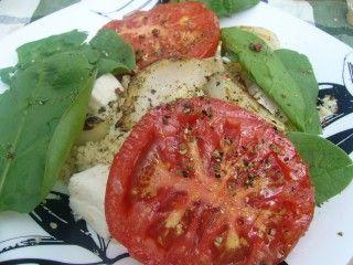 Вегетарианский пикник.Кус-кус с моцареллой и овощами.