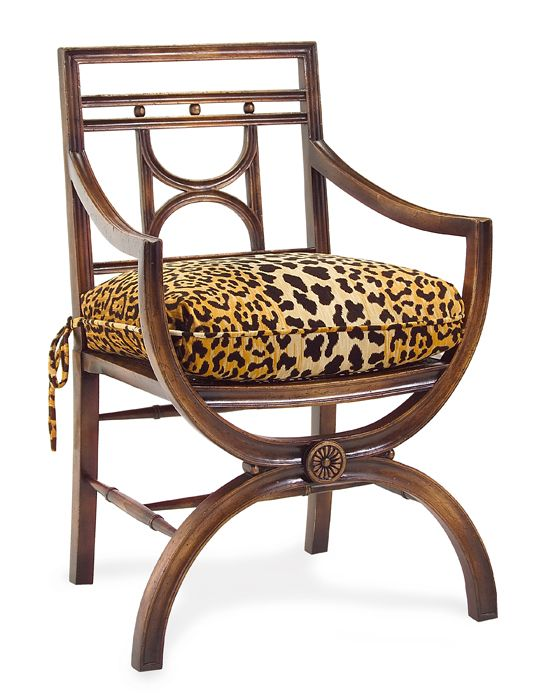 385H X 25W 20D Arm Chair With A Loose Cushion Available Dining Room