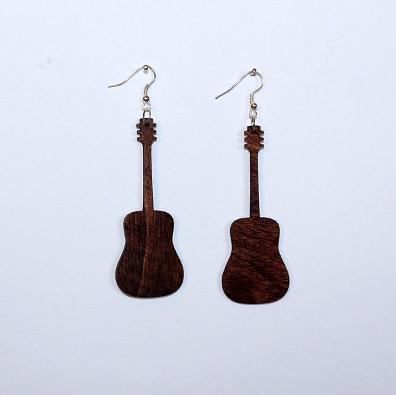 Check out this item in my Etsy shop https://www.etsy.com/listing/467947284/handmade-wooden-guitar-earrings
