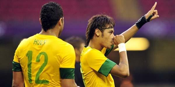 Cuplikan Gol Brasil U23 vs Belarusia U23 - Cuplikan Gol Brasil U23 vs Belarusia U23 Olimpiade London 2012