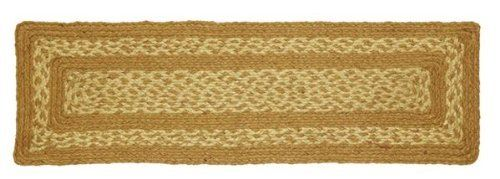 "Khaki Jute Stair Tread Rectanglar 8.5x27"" by Victorian Heart. $5.95. High end quality and workmanship!. All cloth items in our collections are 100% preshrunk cotton. All braided items (like rugs, baskets, etc.) are 100% jute. Product measurements and additional details listed in title and/or Product Description below.. See Product Description below for more details!. Extensive line of matching items and accessories available! (Search by Collection name). 100% Jute"