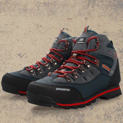 Outdoor Men Water Resistant Trekking Shoes-47.63 and Free Shipping| GearBest.com