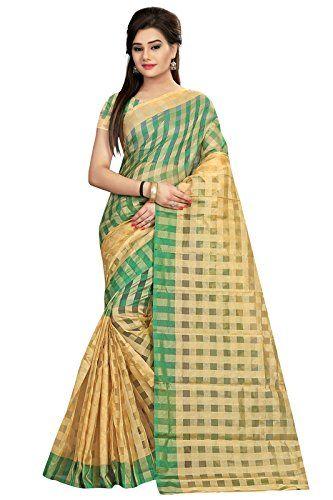 Indian Fashionista Chanderi Cotton Ethnic Party Wear Saree  For Women