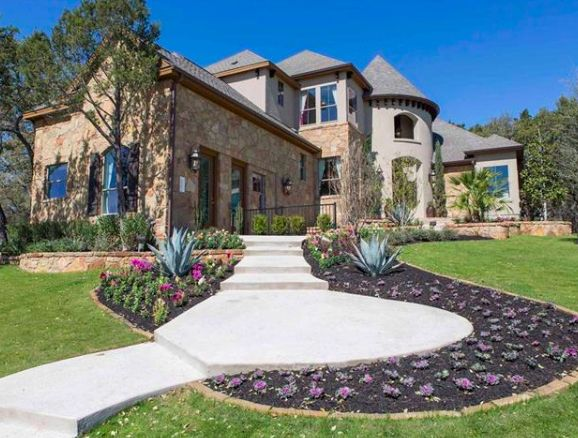 This Home Can Be Your Castle Equipped With A Beautiful Game Room Media Wet Bar And Outdoor Kitchen Lou Hollow PL Cedar Park
