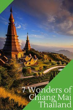 The 7 wonders of Chiang Mai, Thailand. Chains Mai trekking option.