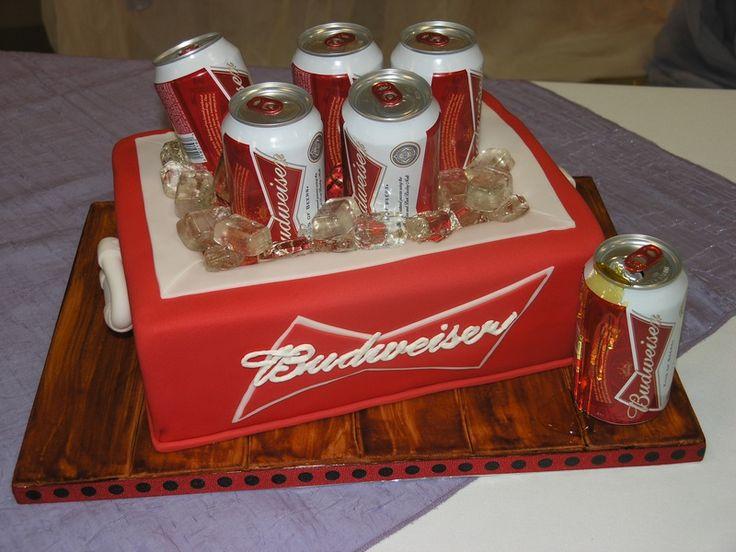 BUDWEISER GROOM'S CAKE | Budweiser - Limited Edition Cakes