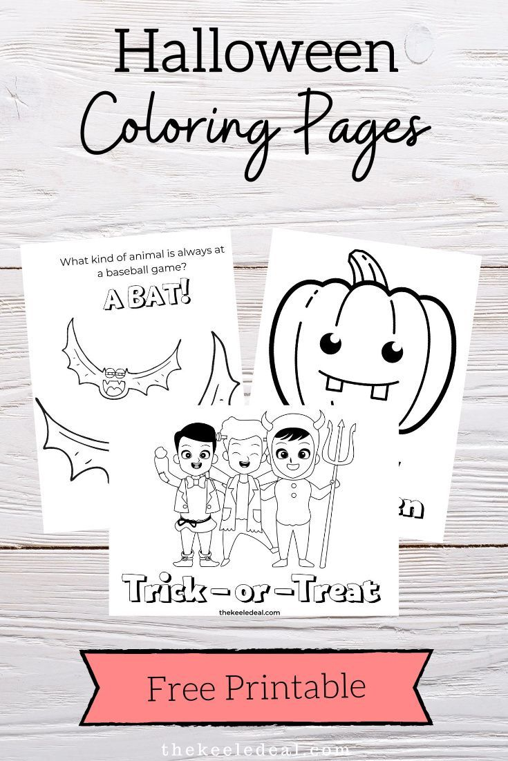 The Best Halloween Coloring Page Free Printables The Keele Deal In 2020 Halloween Coloring Pages Halloween Coloring Free Halloween Coloring Pages
