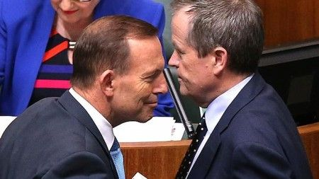 June 24, 2015 It's about time these two went head-to-head (image from dailytelegraph.com.au)By Eva Cripps The Australian Government has reached yet another low point. And not just Prime Minister To... http://winstonclose.me/2015/06/25/actions-not-words-bill-written-by-eva-cripps-aimn/