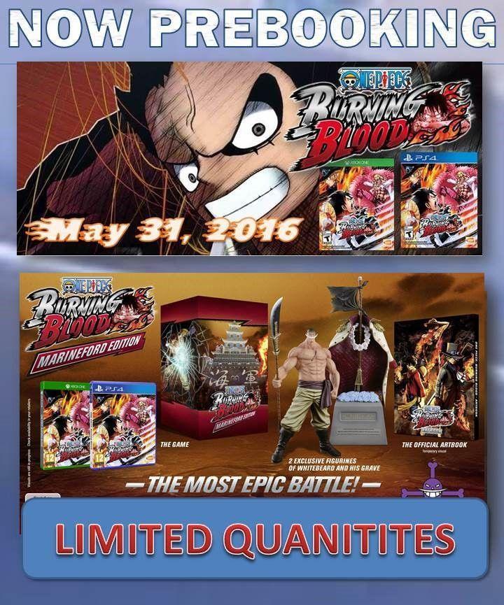 ONE PIECE: BURNING BLOOD. Fecha de lanzamiento: 31 de Mayo de 2016.   Visite nuestro sitio web y haga su pedido ahora. http://www.latamgames.com/master_es.php   #mayorista #distribuidores #proveedores #xboxone #xbox #ps4 #Juegos #Venta #Videos  #PlayStation #ventadevideojuegos #Videojuegos #Latinoamérica #Games #OnePiece #BurningBlood #Anime #LatamGames #Gamers #PlayStation4 #BANDAINAMCO