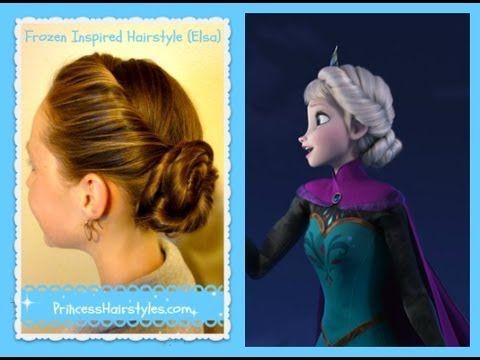 Elsa Hairstyle, Inspired By Disney (Frozen) Coronation Updo