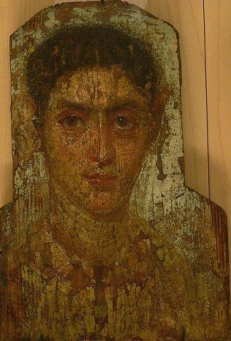 A Woman, Antinoopolis ( ?), AD 160-180 (Paris, Musée du Louvre, AF 6886)