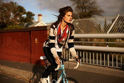Me and my weakness for women on two wheels