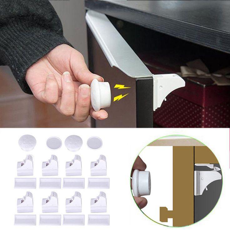 Childbaby safety deluxe starter set 4 locks key 1st