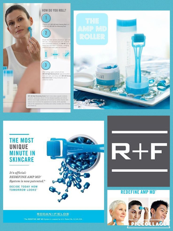 What is the AMP MD roller?  It is a patented micro-needling tool that takes your regimen results to the next level. The micro-needles make teeny holes in the top layer of skin, which triggers a healing response (stimulate your collagen) and allows your products to seep into your skin.  Great to help with...  reducing scars by acne, surgery and thermal burns  fading stretch marks  reducing fine lines and deep wrinkles  dyspigmentation from melasma and brown spots  tightening saggy skin