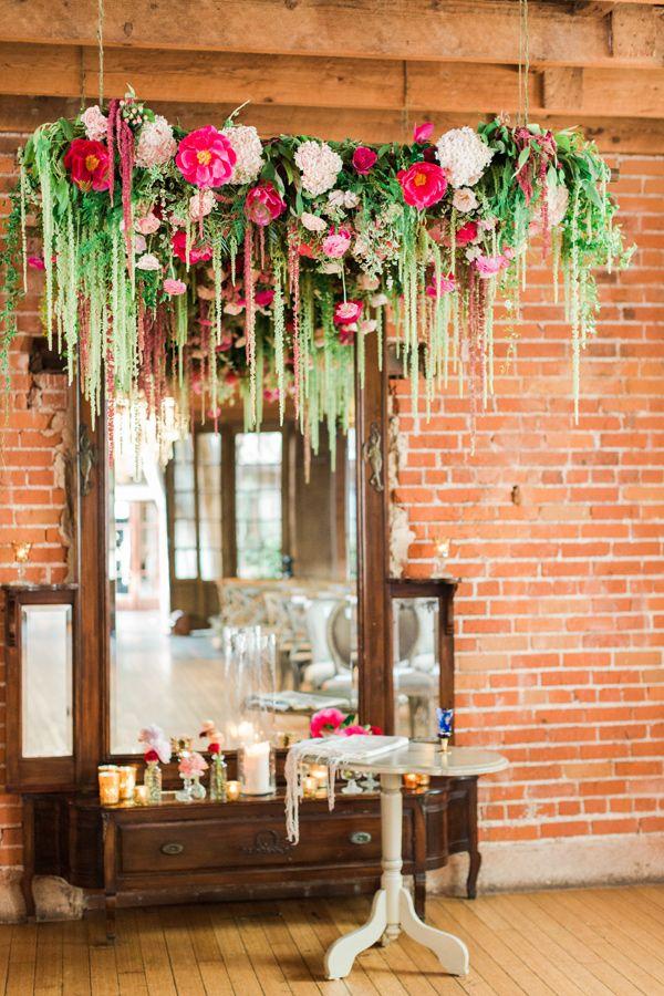 Fl Filled Carondelet House Wedding