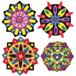 Art Project:  Use pre-cut wood shapes to create designs in the Pennsylvania Dutch style.