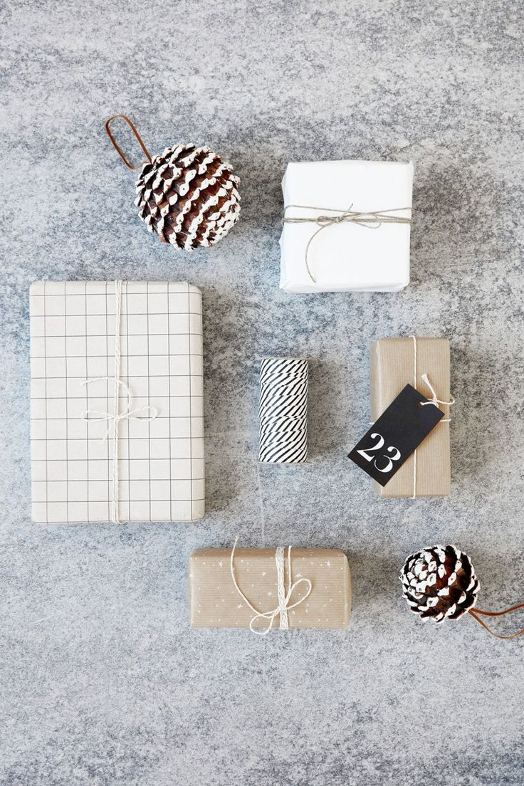 Christmas gift wrap ideas.