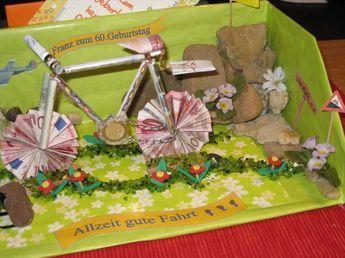 Geldgeschenk Fur Ein Fahrrad Bild 2 Geldgeschenke Gifts Money