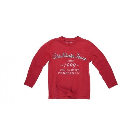 The Old Khaki Kids' Ivan T-Shirt is a long sleeved crewneck t-shirt. It's 100% cotton and especially designed for comfort, keeping the little people in mind!  www.capeunionmart.co.za