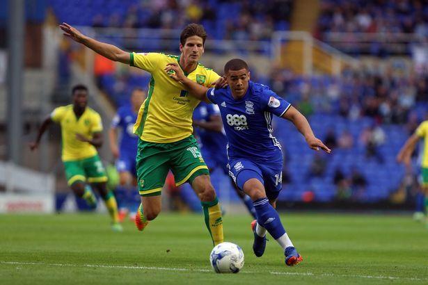Che Adams beats Norwich's Timm Klose