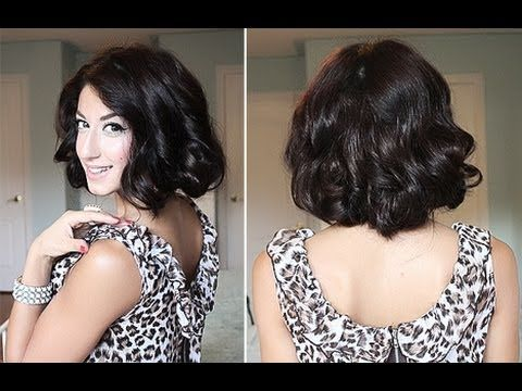 Here is how I create the Glamorous, Curly Faux Bob hairstyle. It's ideal when you want to change up your look, without committing to cutting your hair. I've used Luxy Clip-In Hair Extensions for added length and volume - ( http://www.luxyhair.com )    All you need is long, wavy/curly hair and lots of good quality Bobby Pins. I got mine from Sally ...