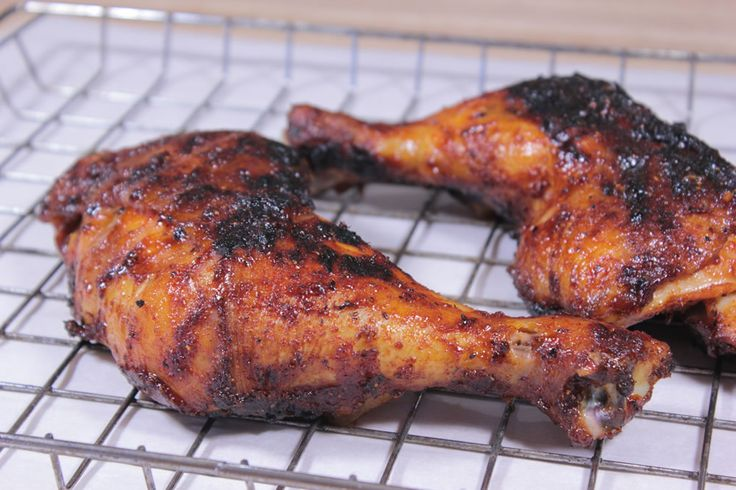 In this smoked and grilled chicken quarters recipe, I demonstrate how to get some smoke flavor on the chicken then finish it off on a really hot grill.