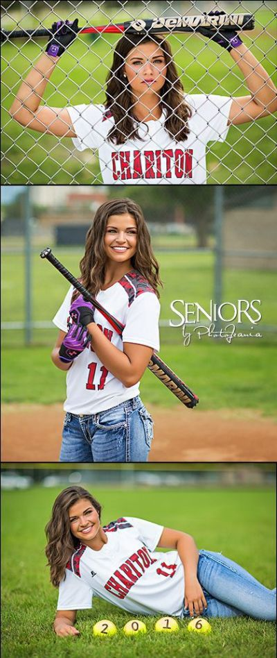 Softball Pitcher Senior Picture