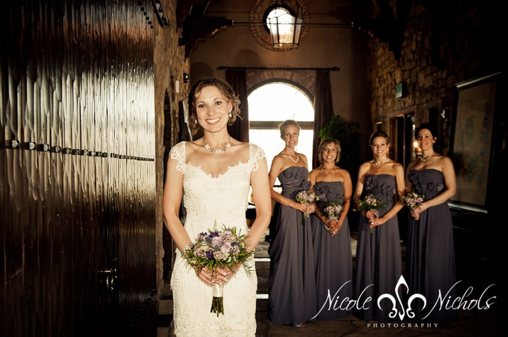 Vintage Wedding Dress, Purple Bridesmaid Dresses, Classic