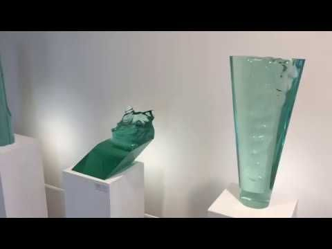Exposure of Glass Sculptures in Glass Gallery Stolting, Hamburg, Germany Video Shot by Tom Stolting 2017 https://youtu.be/c16ykQXagcY
