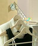 Wall Mount Hanger Valet - Chrome: Wall Mount, Strongest Models, Closets, Hanging Organizations, Laundryvalet, Laundry Rooms, Rooms Ideas, Clothing Hangers, Laundry Valet