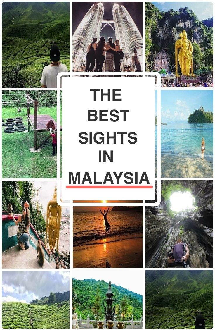 GUIDE: THE BEST SIGHTS IN MALAYSIA