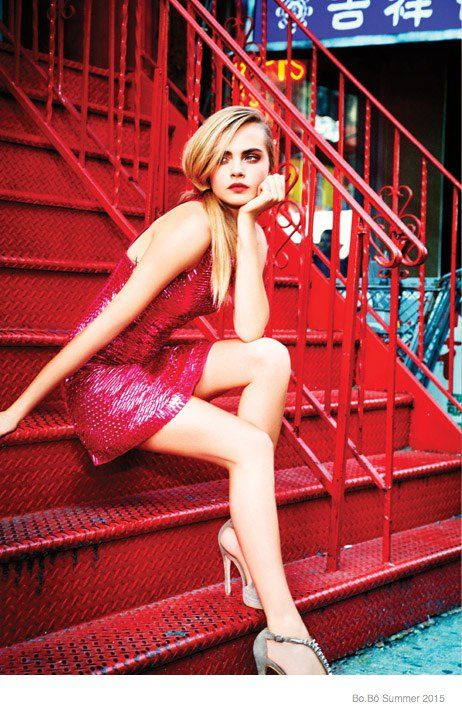 cara delevingne bobo summer 2015 ad campaign07 Cara Delevingne is Back for the Bo.Bô Summer 2015 Advertisements
