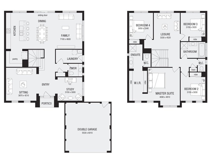 Trentham 30, New Home Floor Plans, Interactive House Plans