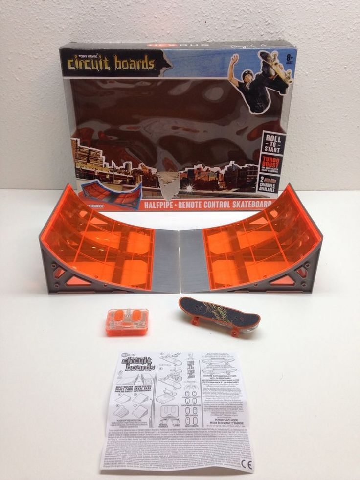 Tony Hawk Circuit Boards By Hexbug Halfpipe Hexbug