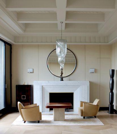 Frederic Sicard Interiors, salon, fauteuils Art Déco