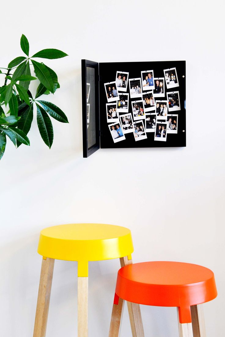 La Memory Box by XLBoom disponible ... épinglez   tous vos meilleurs  souvenirs . .. même ceux en volume grâce   à   cette box profonde qui s'ouvre et se referme avec des aimants . .. astucieux  et beau à la fois!