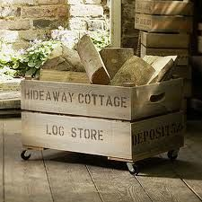 indoor log storage - Google Search