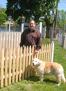The right type of fencing can change your yard into a beautiful setting for entertaining and relaxation. Screen and semi-screen fences add grace and beauty to your property, as well as providing privacy, protection and security for many years. A tall fence along the property line creates a sound buffer between dwellings and streets. Landscaping the area between your home and fence can give a charming and neat appearance that will add value to your property.