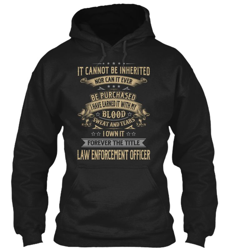 Law Enforcement Officer - My Blood #LawEnforcementOfficer
