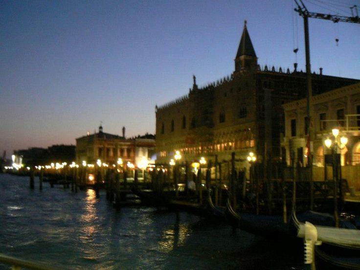 Evening lights, Venice...  Photo: Beata B.