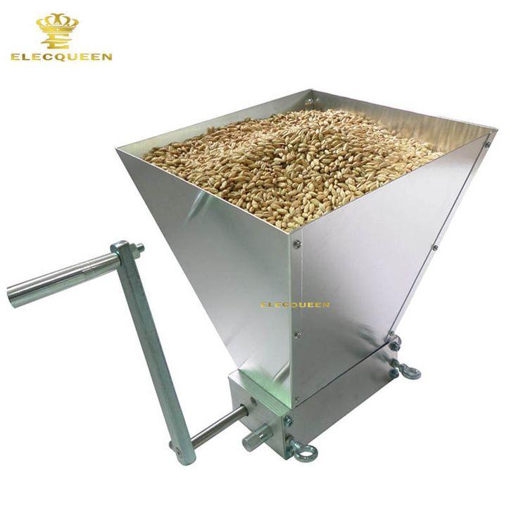 2017 Terbaru Stainless Rol & Pabrik Harga Untuk Menakjubkan Homebrew Malt Mill/Pabrik Gandum/Grain Crusher Grosir
