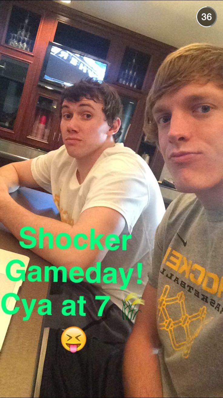 Evan Wessell and Ron Baker