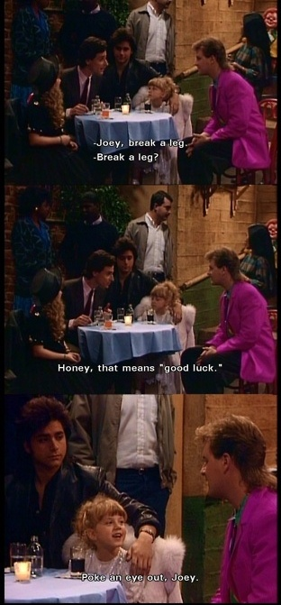 Full house full house humor classic theatre full house for Classic full house quotes